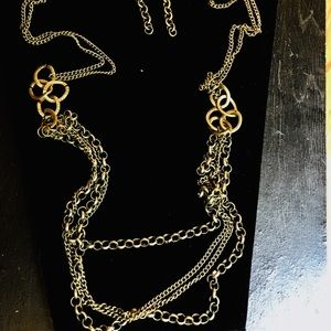 Paparazzi necklace and earrings